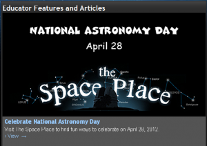 the space place screen shot